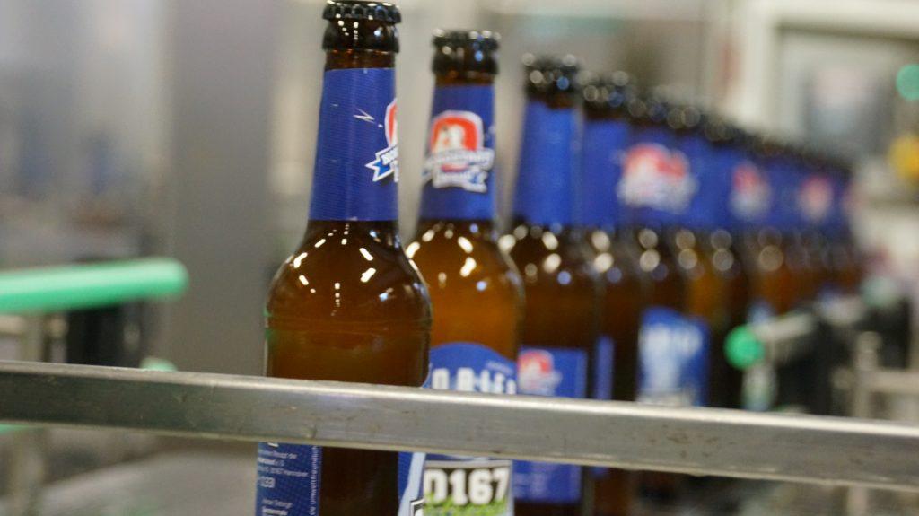 Abfüllung der 30167 Flaschen Alten/Harz