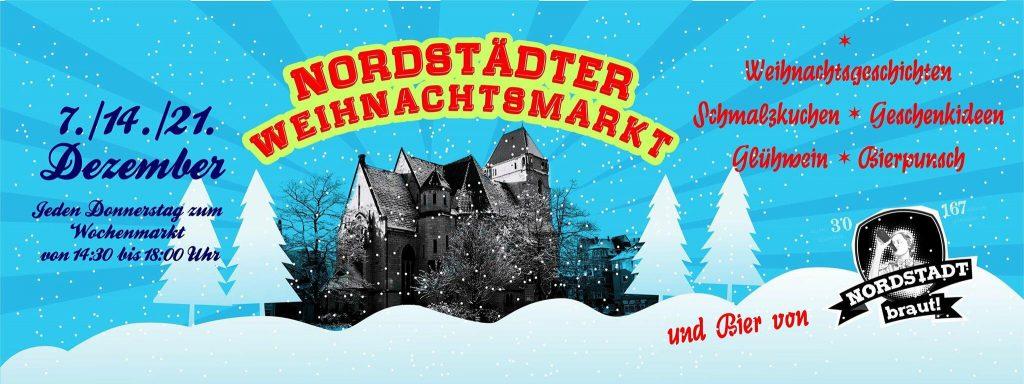 Die Nordstad braut! auf dem Nordstadt Weihnachtsmarkt 2017