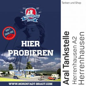 Bei der ARAL Tankstelle Herenhausen könnt ihr unser 30167 Bier kaufen