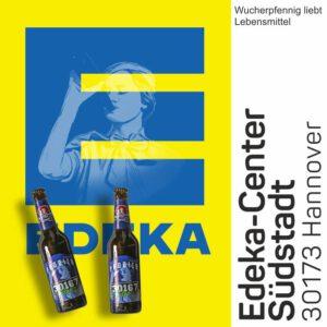 Im EDEKA Center Südstadt könnt ihr unser 30167 Bier kaufen