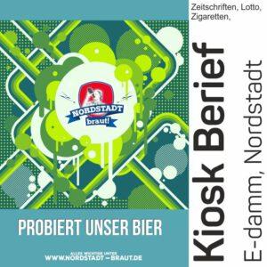 Im Kiosk Berief könnt ihr unser 30167 Bier kaufen