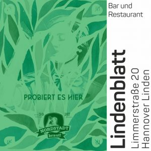 Im Lindenblatt könnt ihr unser 30167 Bier geniessen