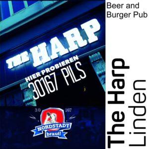 Im The Harp könnt ihr unser 30167 Bier geniessen