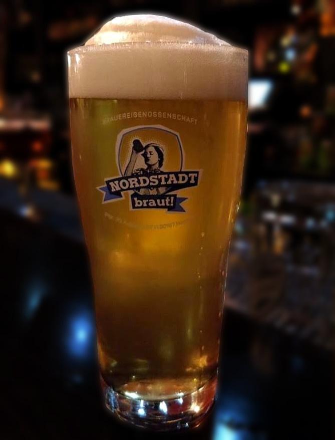 Gläser mit dem Logo Nordstadt braut!