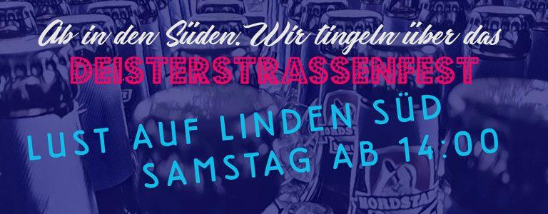 NORDSTADT braut! beim Deisterstraßenfest in Linden-Süd