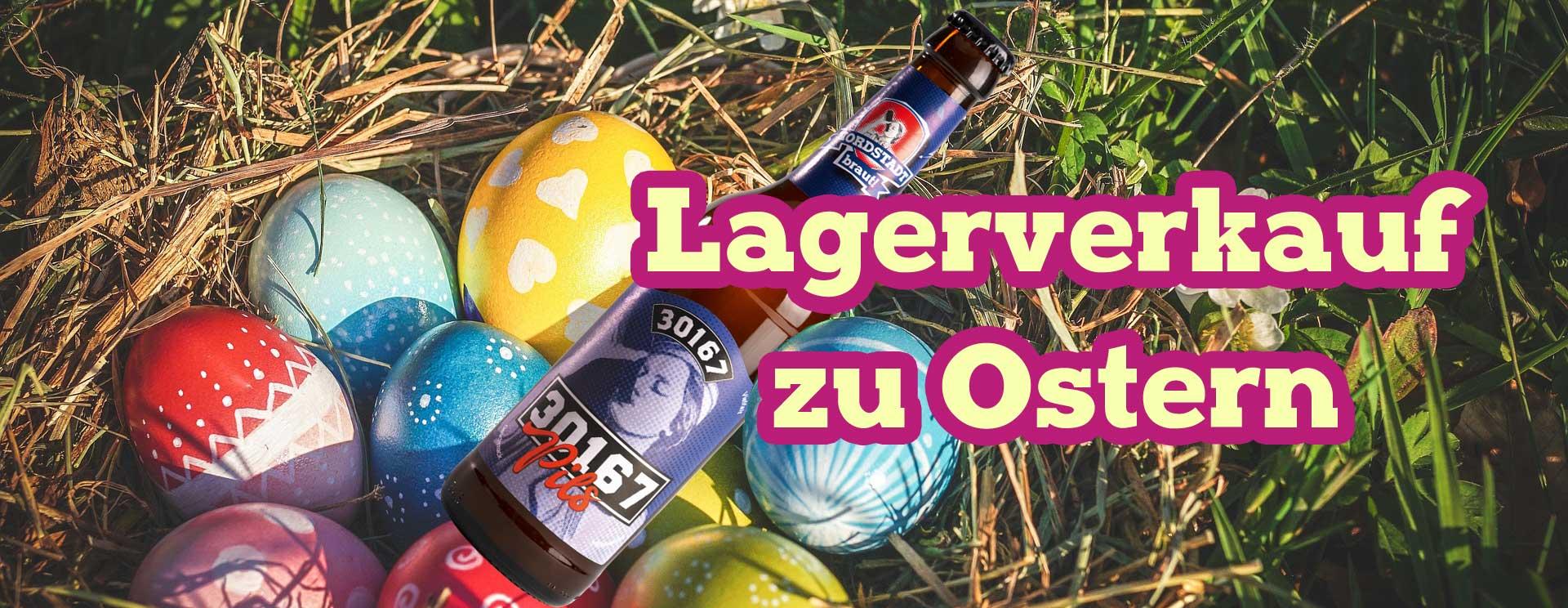 Lagerverkauf Ostern 2019