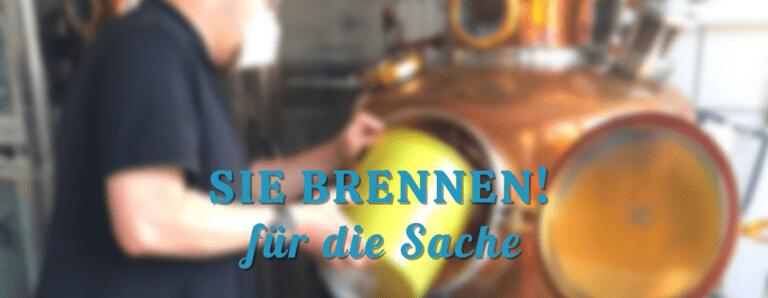 Read more about the article Sie brennen für die Sache